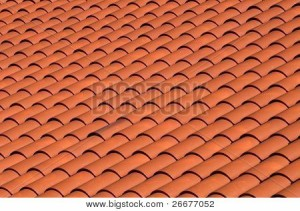 Red tgerra cotta roof tiles
