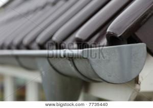 Metal raingutter