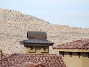 Custom roof turret by Prestige Roofing