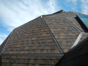 A dome roof is difficult for many roofing projects