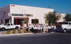 Prestige Roofing new building on Bunkerhill in North Las Vegas