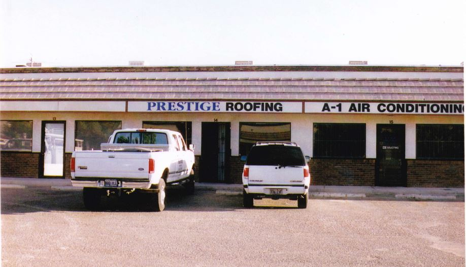 Prestige Roofing Orignal Offices At Craig And Cheyenne In N Las Vegas