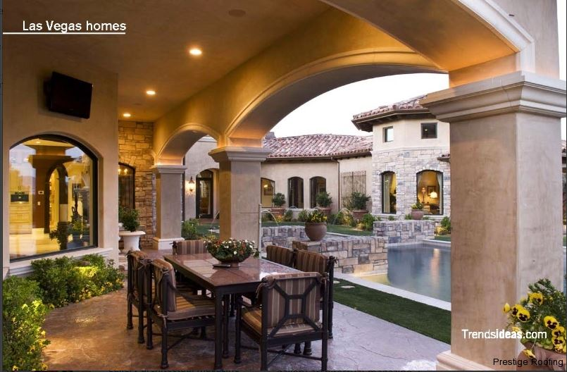 Las vegas Homes magazine tile roofing