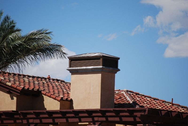 tile roof ventilation fixture