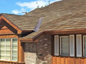Cedur shingles restoration project on historic Las Vegas home