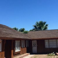 Vintage Las Vegas home restored with CeDUR shake roofing