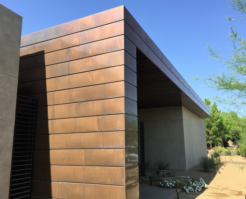 custom copper roofing and fixtures in Las Vegas