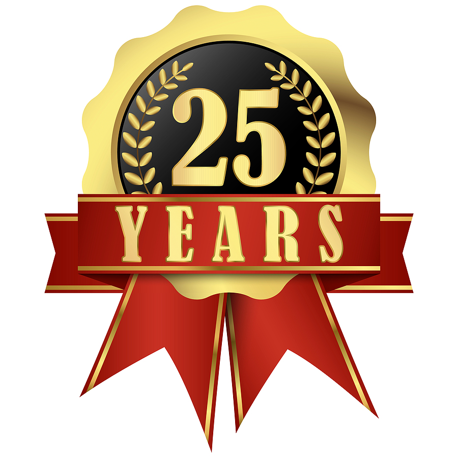 20 year anniversary ribbon